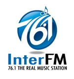 king_jさんの「76.1 THE REAL MUSIC STATION InterFM」のロゴ作成への提案