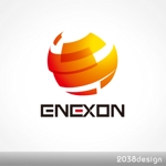 2038designさんの「ENEXON」のロゴ作成への提案
