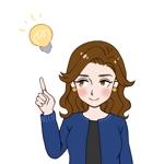 東京都港区の地域情報ブログ執筆者(女性)のキャラクターデザインへの提案