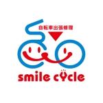 tera0107さんの「smile cycle」のロゴ作成への提案