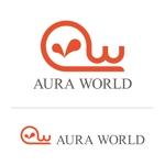 会社のオフィシャル「AURA WORLD」のロゴへの提案