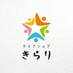 hidecomaさんの福祉型の共同住宅のロゴ(きらり)への提案
