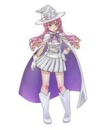 白い魔法使い(少女)のキャラクターデザインへの提案