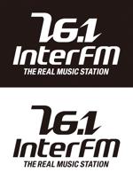 tsujimoさんの「76.1 THE REAL MUSIC STATION InterFM」のロゴ作成への提案