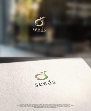 NJONESさんのディスプレイ資材販売会社「seeds」のロゴ制作への提案