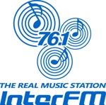 beecomさんの「76.1 THE REAL MUSIC STATION InterFM」のロゴ作成への提案