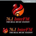 veritascreativeさんの「76.1 THE REAL MUSIC STATION InterFM」のロゴ作成への提案