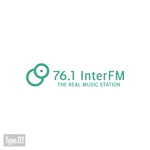 DECOさんの「76.1 THE REAL MUSIC STATION InterFM」のロゴ作成への提案