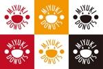 ドーナッツショップ「MIYUKI DONUTS」のロゴ制作への提案