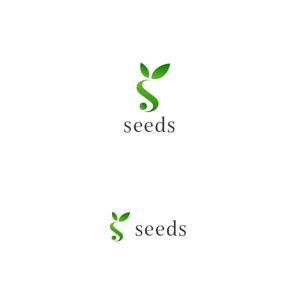 DesignStudioさんのディスプレイ資材販売会社「seeds」のロゴ制作への提案
