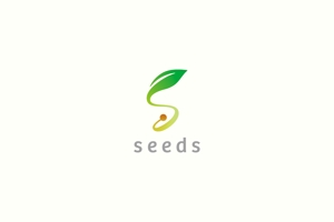 yamana_designさんのディスプレイ資材販売会社「seeds」のロゴ制作への提案