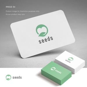 doremidesignさんのディスプレイ資材販売会社「seeds」のロゴ制作への提案