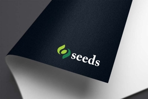 haruru2015さんのディスプレイ資材販売会社「seeds」のロゴ制作への提案