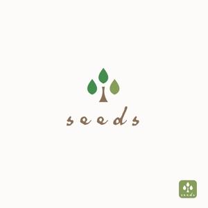 Morinohitoさんのディスプレイ資材販売会社「seeds」のロゴ制作への提案