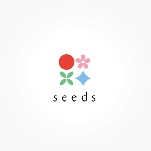 nao14さんのディスプレイ資材販売会社「seeds」のロゴ制作への提案