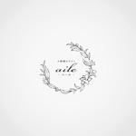 美容系サロン 『小顔矯正サロン aile 〜エール〜 のロゴへの提案