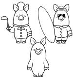 あぐー豚しゃぶしゃぶ専門店 オーシャンBoo!のマスコットキャラクターへの提案
