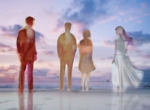 xonoixさんの映像作品「(仮)Waiting Peoples 」のビジュアルイメージイラストへの提案