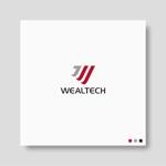 会社・プロジェクト「Wealtech」のロゴへの提案