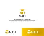 高級時計ショップ「MAUI」のロゴ、への提案