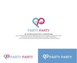 婚活パーティーを運営する「PARTY☆PARTY」のサービスロゴ作成への提案
