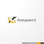 会社ロゴ「株式会社アマネクト」ロゴへの提案