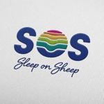 寝具パンフレットに乗せる「SOS」のブランドロゴへの提案