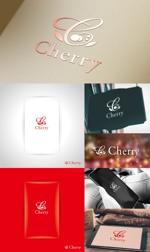 ガールズバー Cherry ちぇりーのロゴへの提案