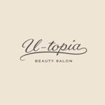 ヘアサロン U-topiaのロゴへの提案
