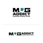 マグカップ専門ネットショップ「MUG ADDICT」のロゴへの提案