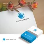 水中動画のサイトのロゴへの提案