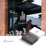 先進のリノベーションマンションを創造する「ビズマーチ株式会社」のロゴへの提案