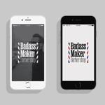 Barber shop【Badass Maker】のロゴへの提案