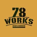 リノベーション事業をおこなっている78WORKSのロゴへの提案