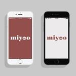 和菓子サブスクサービス「miyoo」のロゴへの提案