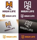 アウトドアブランド「HIGH LIFE」のロゴ作成への提案