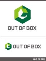 「OUT OF BOX」のロゴ作成依頼への提案