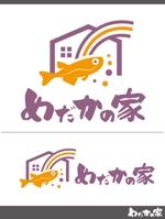 めだかと苔玉生産と販売の福祉作業所 めだかの家 のロゴ制作への提案