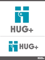 障害をお持ちの方が作業を行う事業所「HUG+」のロゴへの提案