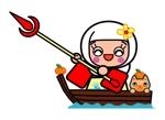 mimikaさんの太田城PRのキャラクター制作への提案