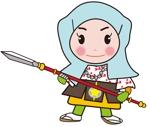 Luna0906さんの太田城PRのキャラクター制作への提案