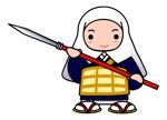 pinkychocolatさんの太田城PRのキャラクター制作への提案