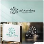 トリミングサロン「artice-dog」のロゴへの提案
