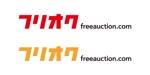 tsujimoさんのオークションサイト「フリオク」のロゴ作成への提案