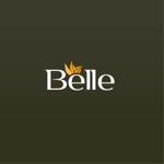 aus-junさんのカラーコンタクト「Belle」のロゴ作成への提案