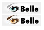 ichirakuさんのカラーコンタクト「Belle」のロゴ作成への提案
