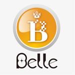 kuma-booさんのカラーコンタクト「Belle」のロゴ作成への提案