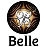 beecomさんのカラーコンタクト「Belle」のロゴ作成への提案