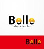 heartさんのカラーコンタクト「Belle」のロゴ作成への提案