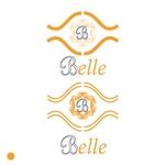 f1st-123さんのカラーコンタクト「Belle」のロゴ作成への提案